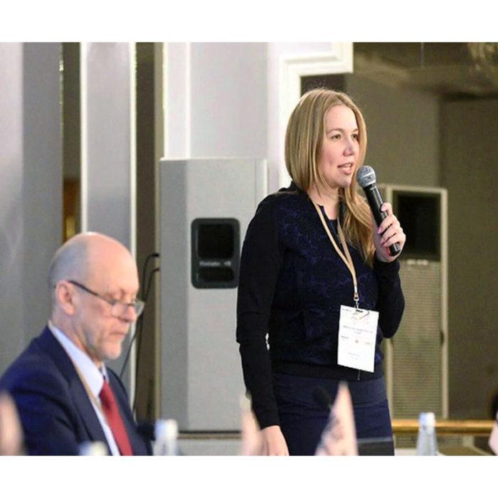 Алена Барсова на конференции «Медицинский бизнес 2019»